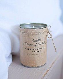 Svietidlá a sviečky - Recy sójová sviečka v plechovke 400g - 10437326_
