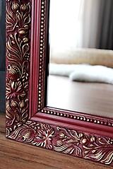 Zrkadlá - Zrkadlo s vôňou malín - 10434867_
