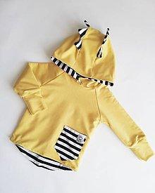 Detské oblečenie - Rastúca dino mikina - 10437775_