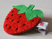 Ozdoby do vlasov - Strawberry - 10437897_