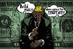 Obrazy - Pop Art obraz Donald Trump - 10435229_