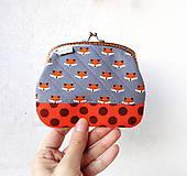 Peňaženky - Peňaženka XL Malé líštičky - 10436573_