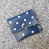 Peňaženky - Purse dots lila - 10435524_