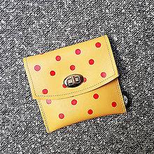 Peňaženky - Purse dots - 10435511_