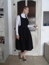 Šaty - Ľanové šaty na traky - 10436406_
