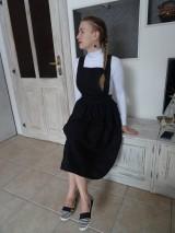 Šaty - Ľanové šaty na traky - 10436418_