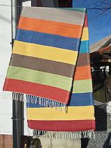 Úžitkový textil - pestrofarebný koberec - 10440571_