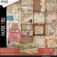 Papier - Sada obojstranných papierov Ciao Bella. - 10439256_