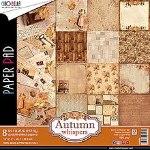 Papier - Sada obojstranných papierov Autumn whispers. - 10441075_