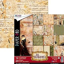 Papier - Sada obojstranných papierov La Traviata. - 10441809_