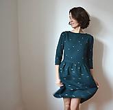 Šaty - HViEZDnA .šaty (Oranžová) - 10439608_