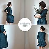 Šaty - HViEZDnA .šaty (Oranžová) - 10439609_