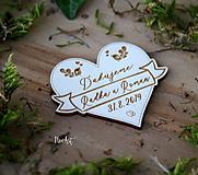 Darčeky pre svadobčanov - Magnetky pre svadobných hostí Vlajka - 10440943_