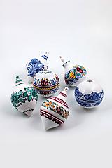 Dekorácie - Vianočná guľa hruška - 10439965_