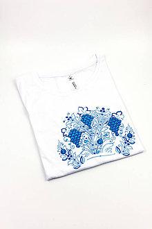 Tričká - Modranské tričko s hroznom PÁNSKE - 10440436_