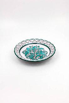 Dekorácie - Vyrezávaný tanier - 10440543_