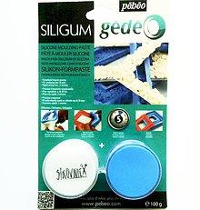 Modelovacie hmoty - Siligum 100 g (hmota na výrobu silik. foriem), Pébéo - 10439203_