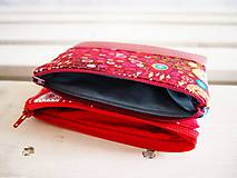 Taštičky - Kozmetické taštičky malé - srdcia,Klimt - 10439570_