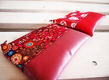 Taštičky - Kozmetické taštičky malé - srdcia,Klimt - 10439571_