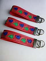 Kľúčenky - Kľúčenka - červená II. - 10442194_