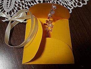 Darčeky pre svadobčanov - Obal na drobnosti - 10441236_