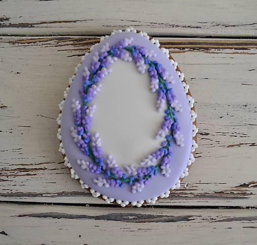 Dekorácie - Veľkonočné vajíčko LAvender  - 10439304_