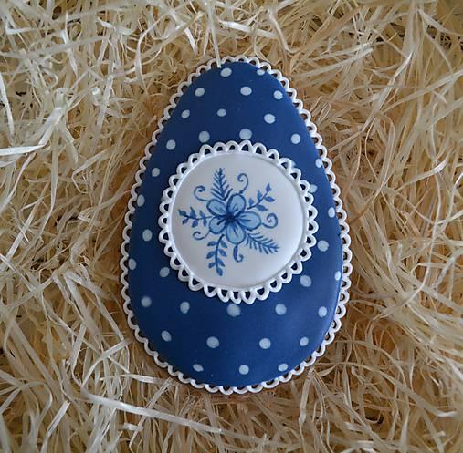 Veľkonočné vajíčko Modrotlač