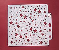 Pomôcky/Nástroje - Šablóna-hviezdičky - 10441764_