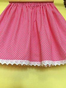 bb4bfaa6965a Detské oblečenie - Detská suknička - ruzova bodočka - 10439865