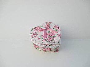 Krabičky - Krabička od srdiečka - 10440915_