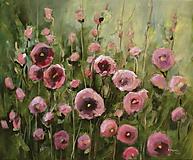 Obrazy - Ružové - 10440565_