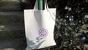 Nákupné tašky - Nákupná ľanová taška - 10439385_