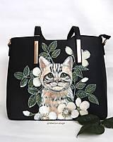 Kabelky - Mačka Murka - 10440473_