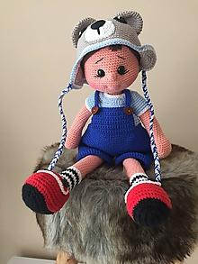Hračky - bábika Leo - 10441401_