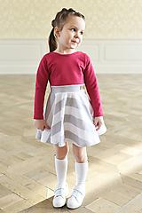 Šaty - točivé šaty MELL Sangria - 10438451_