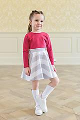 Šaty - točivé šaty MELL Sangria - 10438454_