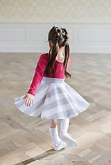 Šaty - točivé šaty MELL Sangria - 10438455_