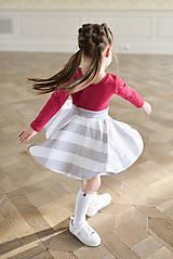 Šaty - točivé šaty MELL Sangria - 10438457_