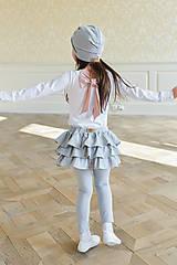 Detské oblečenie - dievčenský nátelník DAILY - 10438468_