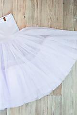 Šaty - detská spodnička EVEN - 10438499_