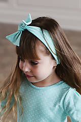 Iné oblečenie - čelenka AQUA - 10438605_