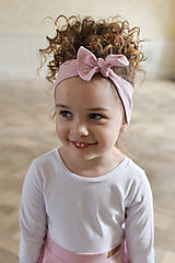 Iné oblečenie - čelenka CANDY PINK - 10438628_