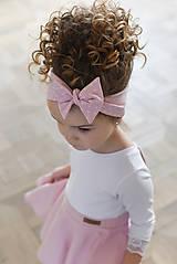 Iné oblečenie - čelenka CANDY PINK - 10438629_