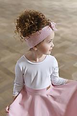 Iné oblečenie - čelenka CANDY PINK - 10438630_