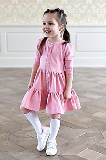 Šaty - točivé šaty ALEXANDRA Coral Blusch - 10438362_