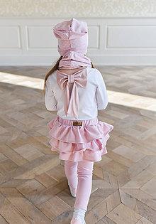 Detské oblečenie - sukňolegíny BASIC CANDY PINK - 10438382_