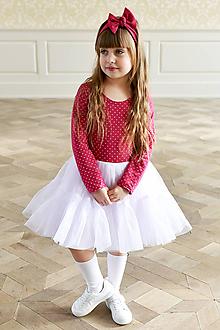 Šaty - točivé šaty MELISSA Sangria - 10438392_