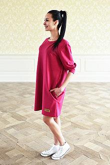 Šaty - dámske šaty Oversize SANGRIA - 10438590_