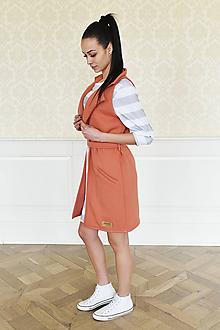 Iné oblečenie - Dámska vesta CINNAMON - 10438720_