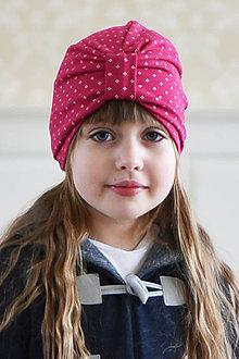 Čiapky - turban jednovrstvový SANGRIA - 10438877_